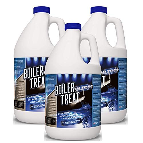 (Boiler Water Treatment Chemicals - 3 Gallon Case (Prevents RUST & CORROSION in Steam Boilers, Hot Water Systems, Closed Loop Systems, Wood Burning Boilers))