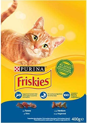 Friskies Adult pienso para el Gato, imantado con y Verduras ...