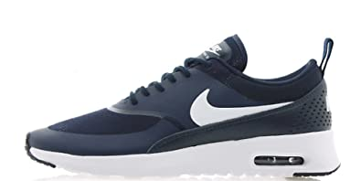 ab9f7f56f291f1 Nike WMNS Air Max Thea 599409-409 Women s Shoes (7) Obsidian White