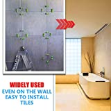 YEFU Tile Leveling System 1/8'' Kit Include 300 PCS Tile Spacers Clips and 120 PCS Reusable Wedges and 1 pc Floor Tiles Pliers for Kitchen Living Room Shower Base Tile Leveler Tools for Installation