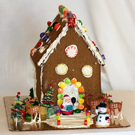Gluten Free Holiday Gingerbread House Kit Amazoncom Grocery - Gingerbread house garage