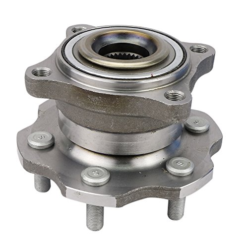 CRS NT541003 New Wheel Bearing Hub Assembly, Rear Left (Driver)/ Right (Passenger), for 2005-2012 Nissan ()