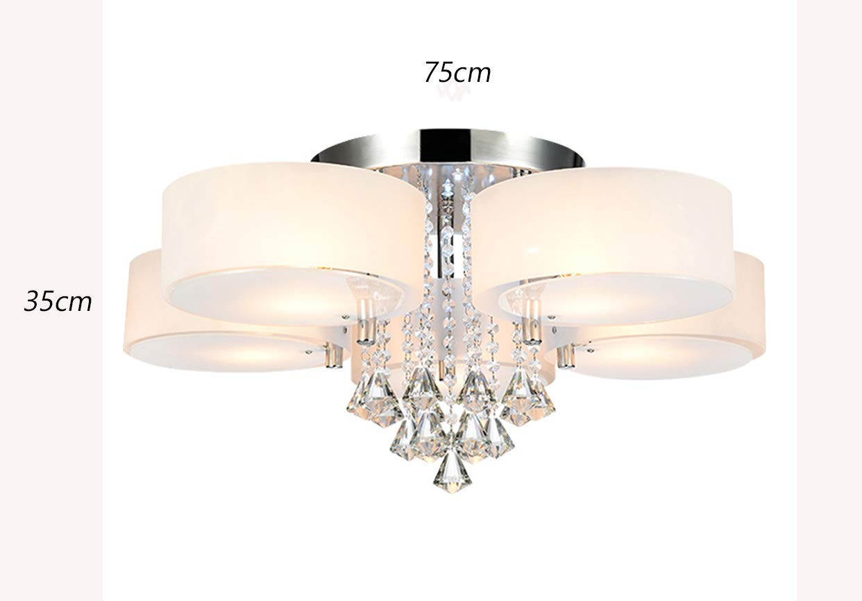 Natsen® modern deckenlampe 5 flammig kristall deckenleuchte designer