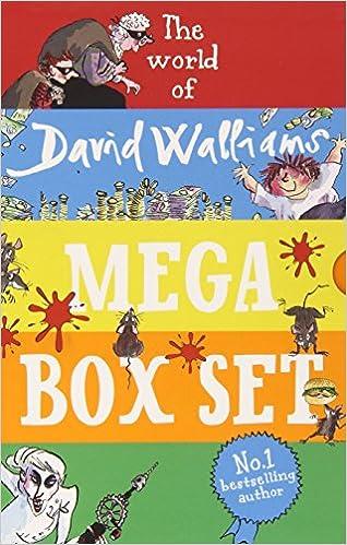 The World of David Walliams: Mega Box set: David Walliams ...