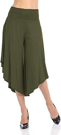 Falda Pantalon Mujer Pantalon Verano Pantalones Aladdin ...