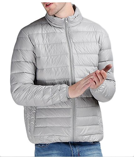 Outdoor Coat amp;W Thick Down Men's Packable Puffer Outwear Lightweight amp;S M 2 Winter Jacket RPw57cq