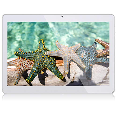 Tablet 10 Zoll Android Tablet PC Qimaoo Android 8.1 3G Tablets mit 1 GB RAM 16 GB ROM IPS HD (1280 x 800), Dual SIM…