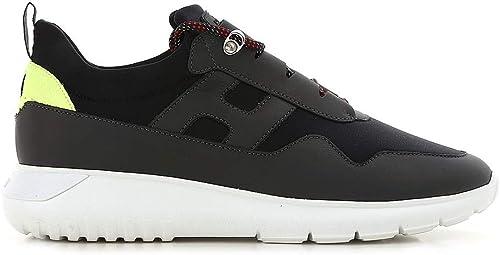 Scarpe Hogan Da Uomo Sneakers Running In Pelle Nero Grigio Sportive Casual Nero 9 5 Mainapps Amazon It Scarpe E Borse