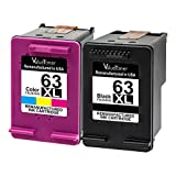 Amazon Price History for:ValueToner Remanufactured Ink Cartridges H 63XL 63 XL Compatible with Officejet 4650, Envy 4520 4512 4516 Officeje 3830 3833 4655 Deskjet 2130 3630 3633 3634 3636 High Yield, (1 Black,1 Tri-Color)