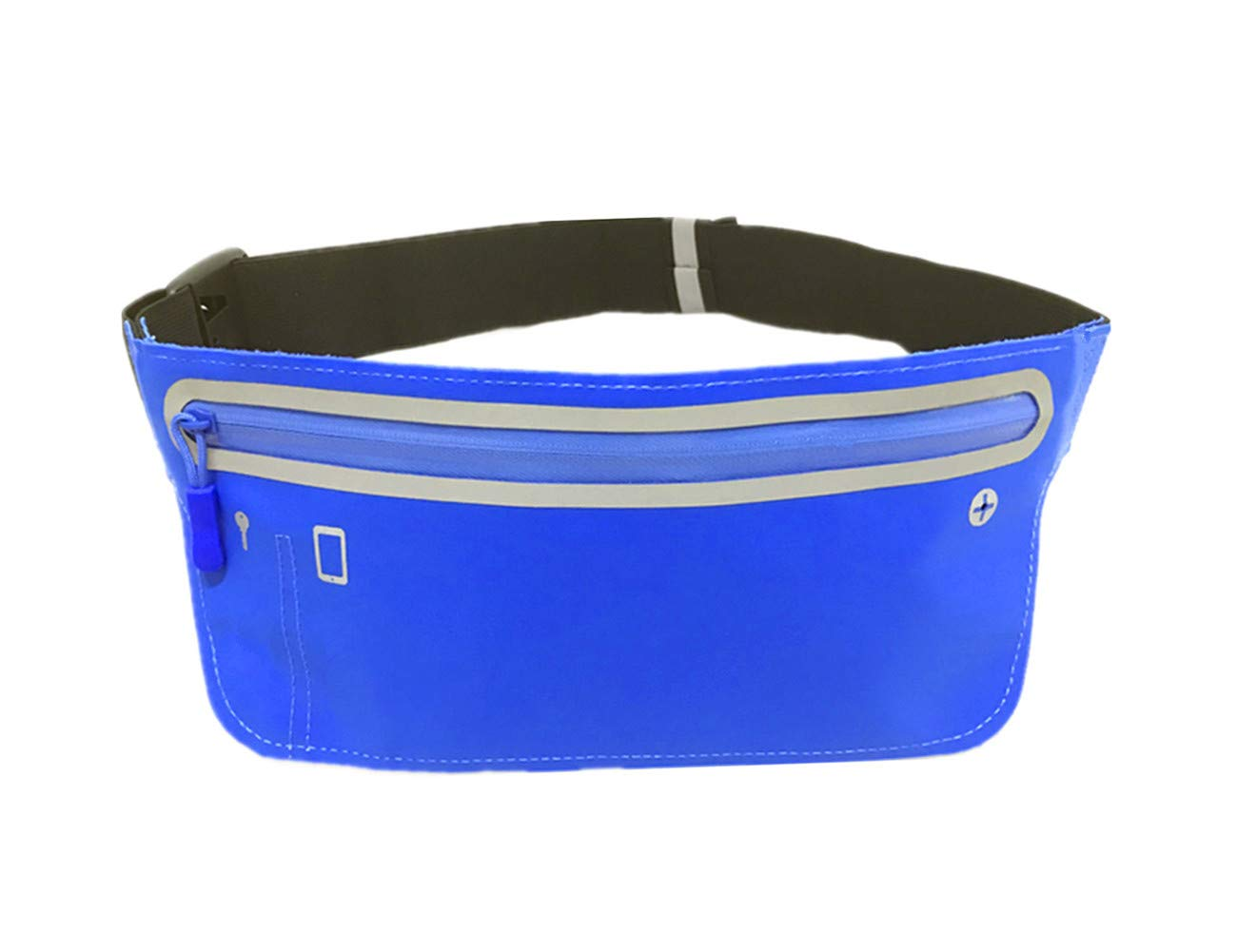 Runying Slim Running Belt for Women Men, Waist Fanny Pack, Adjustable Waistband, Exercise Waist Bag, Fits Phones for up to 6 inches, Idea for Cycling, Hiking, Fitness, Running, Yoga and More by Runying (Image #1)