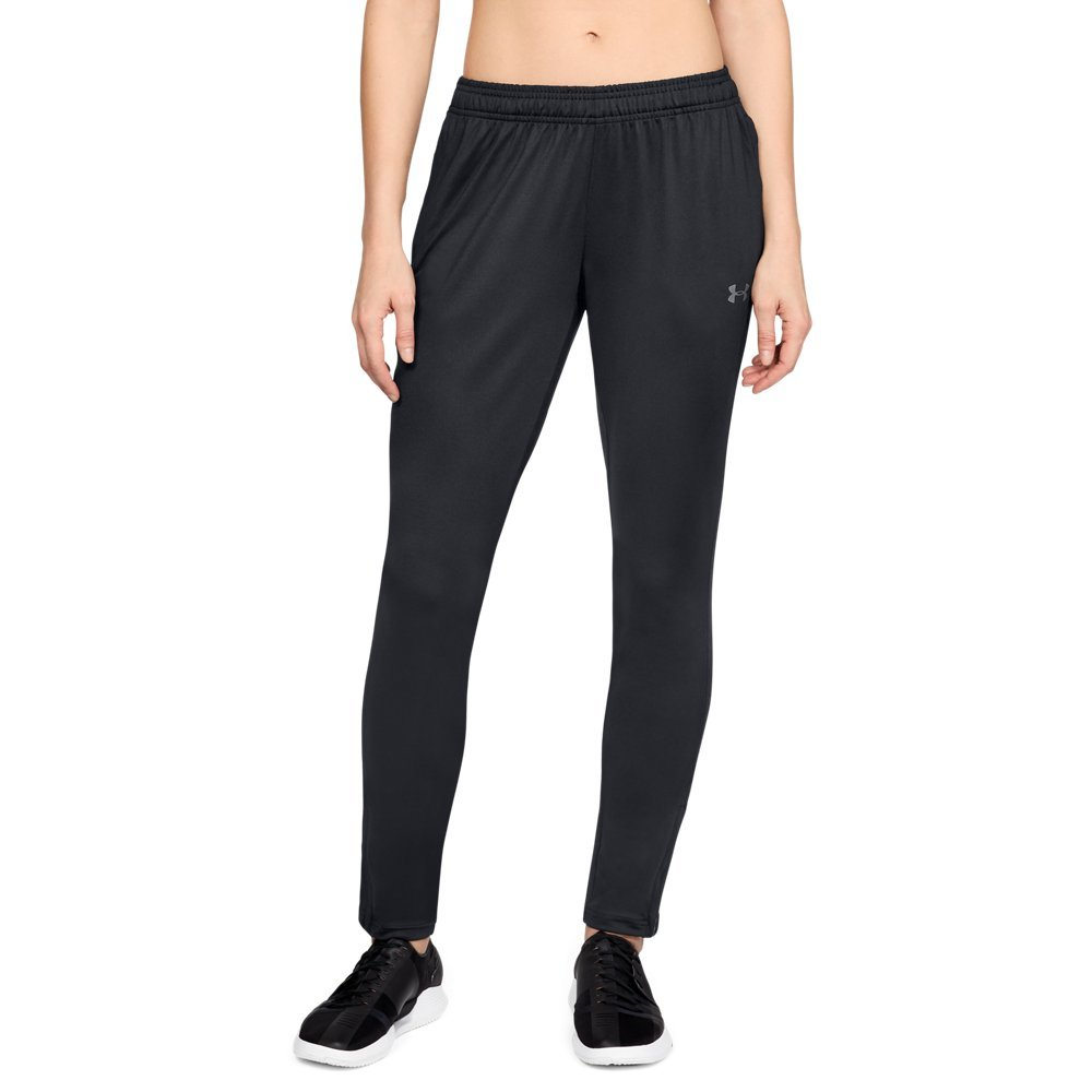 Under Armour Women's Challenger II Training Pants, Black (001)/Graphite, X-Small