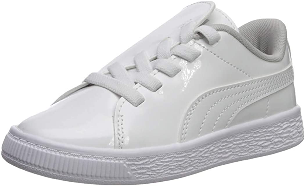 PUMA Unisex-Child Basket Crush Award Sale price on Slip Sneaker