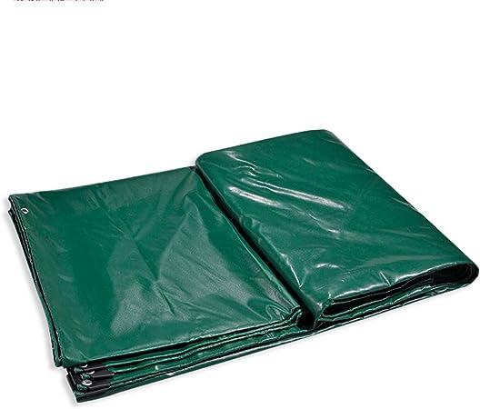 Fundas para Muebles De Jardin Lona Verde Espesar A Prueba de Lluvia Tres Defensa PVC Carpa Lona Pegada (Size : 5X7m): Amazon.es: Hogar