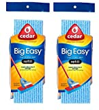 O-Cedar Big Easy Flat Sponge Mop Refill - Pack of 2