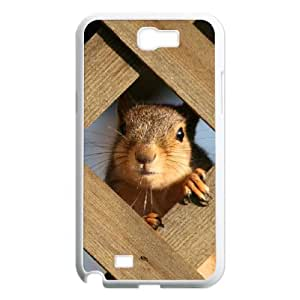 J-LV-F Diy Phone Case Squirrel Pattern Hard Case For Samsung Galaxy Note 2 N7100
