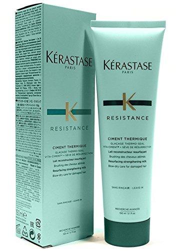 Kerastase Paris Resistance Ciment Thermique Conditioner, 5.1 ounce(150ml)