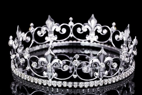 ornate-2-tall-fleur-de-lis-full-king-crown-silver-plated-clear-crystals-t1014