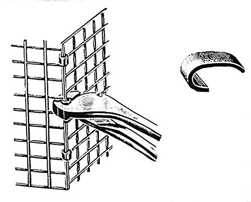 GANCI PER CONGIUNZIONE RETI GR.5X0, 8 KG 5 ZINCATO Cartomatica Confezione da 5KG nextradeitalia