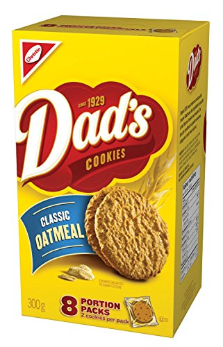 - Christie Dad's Classic Oatmeal Cookies 300g (10.58oz) {Imported from Canada}