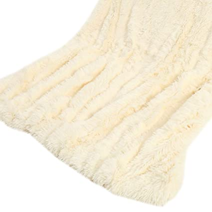 Superb Herotree Soft Long Shaggy Throw Blanket Faux Fur Warm Elegant Sofa Double King Bed Double Sided Plush Blanket Double Blanket Blanket For Winter Bralicious Painted Fabric Chair Ideas Braliciousco