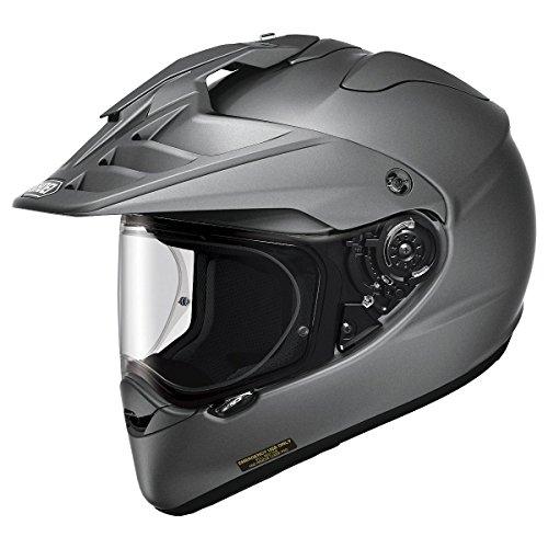 Shoei Hornet X2 Deep Matte Grey Dual Sport Helmet - Medium