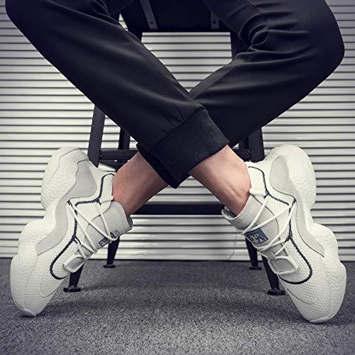EAOJRSCSA Herrenschuhe Herbst Atmungsaktive Trend Lässige Coconut Laufschuhe Laufschuhe Laufschuhe Männer Wilde Flut Schuhe Männer b16466
