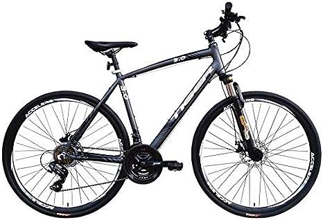 Tiger Legend 3.0FS - Bicicleta híbrida deportiva de aleación con ...
