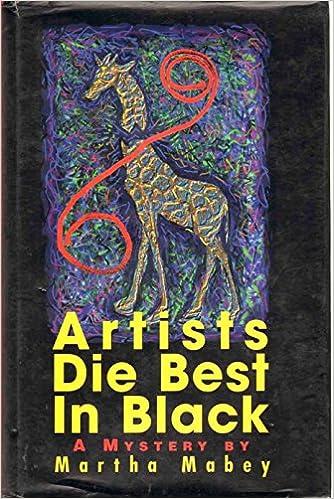 buy artists die best in black a novel book online at low prices in