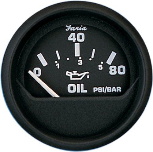 Faria 12803 Oil Pressure Gauge-Euro