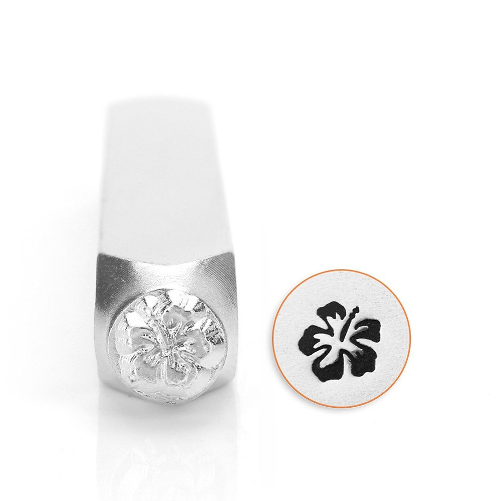 ImpressArt Hibiscus Design Stamp 6mm