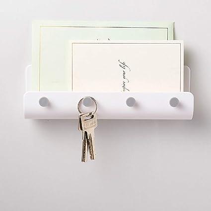 Soporte para correo y soporte para llaves montado en la ...