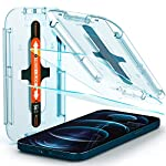 Spigen Tempered Glass Screen Protector [Glas.tR EZ Fit] designed for iPhone 12 Pro Max (2020) [6.7 inch] [Case Friendly…