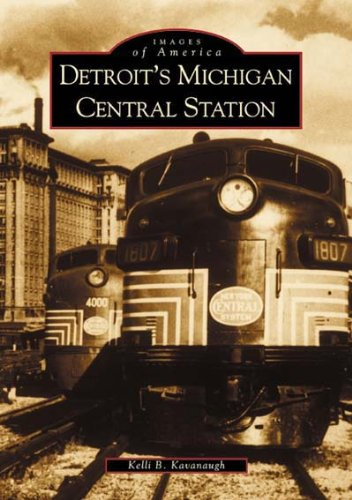 Collectible New York Central Railroad (Detroit's Michigan Central Station (MI) (Images of America))