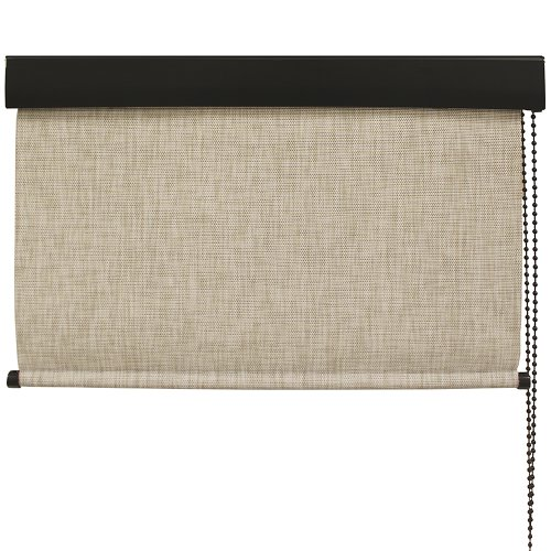 Keystone Fabrics Premium Outdoor Sun Shade, Loop Cord Control, 10-Feet by 8-Feet, Caribbean - Exterior Sunscreen