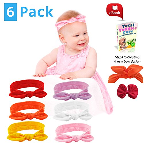 [Baby Girl Headbands Fashion Hair Bows and Knot Style for Toddler - Adjustable for Perfect Fit in Pack of Color Cotton Gifts Set - 100%] (Board Game Halloween Costumes Diy)