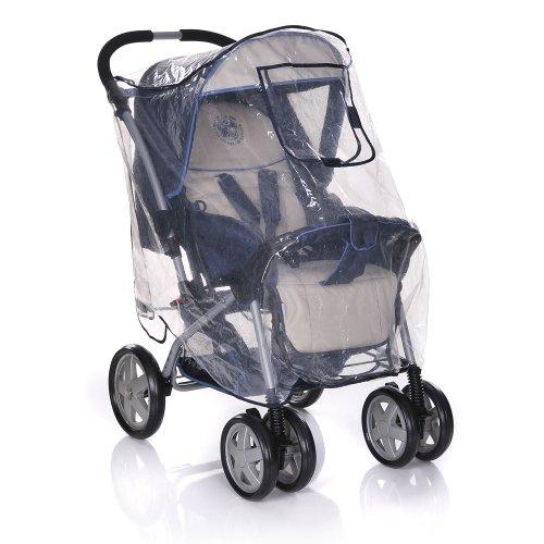 Your Baby 10297 Komfort Universal-Regenschutz XL mit verschließbarem Fenster