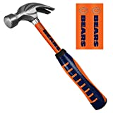 Chicago Bears Hammer 16-Ounce Curve Claw with Steel Handle Football