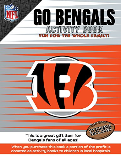 In The Sports Zone NFL Cincinnati Bengals Activity Book/Orange/White/One Size
