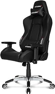 AKRacing AK BK Masters Series Premium Gaming Chair, Black