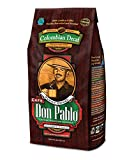 2LB Cafe Don Pablo Decaf Swiss Water Process Colombian Gourmet Coffee Decaffeinated - Medium-Dark...