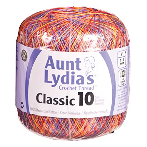 Aunt Lydia'S Classic Crochet Thread Size 10-Passionata by Aunt Lydia's