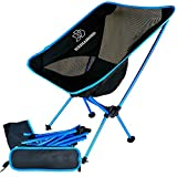 Outdoor Camping Folding Chairs, Wediamond Camp1 Portable Ultralight Aluminum Alloy(330lbs Weight Bearing Load ) Fishing Chairs, Leisure, Writing chairs with Carry Bags