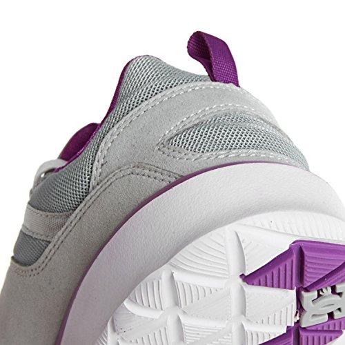 DC Shoes Heathrow J - Zapatillas de Deporte Mujer gris