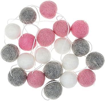 Pom Pom Balls 2 CM Baby Pink Handmade DIY Project Nursery New Pom Pom Balls