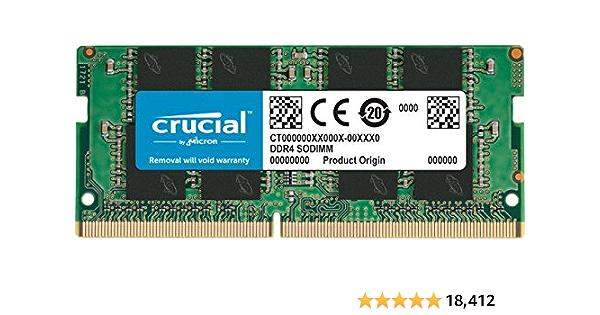 Crucial único DDR4 2400