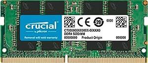 Crucial 4GB Single DDR4 2133 MT/s (PC4-17000) SR x8 SODIMM 260-Pin Memory - CT4G4SFS8213