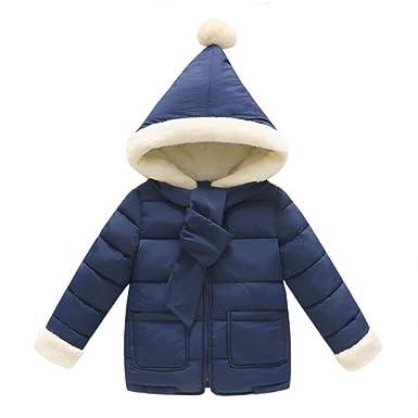 Hibote Niñas Abrigos Bebé Niñas Invierno Abrigos Calientes Poco Mano Linda Navidad Abrigos Niño Abrigos Abrigos: Amazon.es: Ropa y accesorios
