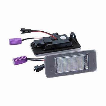 D Accessoires Led 2 Pcslot Licence Wildeal Auto De Plaque Lampe 0P8wOXZkNn