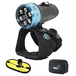 Light & Motion Sola Dive 800 LED Light with Large Handstrap and Float Strap