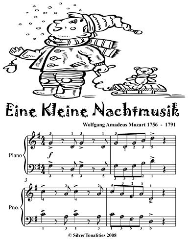(Eine Kleine Nachtmusik Easy Piano Sheet Music Tadpole Edition )